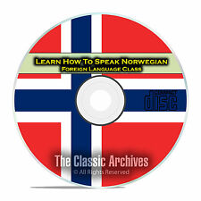 Learn How To Speak Norwegian, Fast Foreign Language Training Course, CD E10