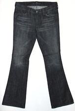 7 FOR ALL MANKIND Bootcut - A Pocket - Ladies Grey Denim Jeans - W31 L34