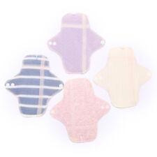 160mm Natural Cotton Reusable Sanitary Towel Pads Cloth Mama Menstrual Pad HC