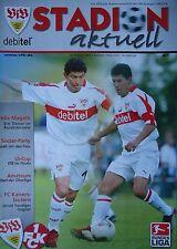 Programm 2002/03 VfB Stuttgart - FC Kaiserslautern
