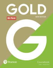 GOLD B2 FIRST COURSEBOOK. NUEVO. Nacional URGENTE/Internac. económico. LIBRO DE