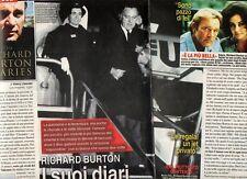 Z10 Clipping-Ritaglio 2013 Richard Burton I suoi diari segreti