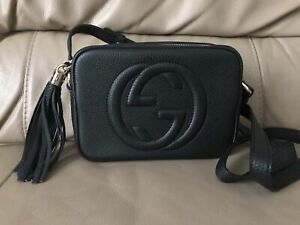 Gucci Soho Disco Bag - Black Leather Crossbody