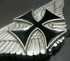 Belt Buckle Iron Cross Wings