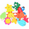 12PCS For Baby Educational Cognitive Learning Toy Cartoon Animal Magnetic Decor