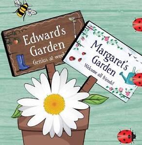 Personalised Name Garden Plaque S - Y