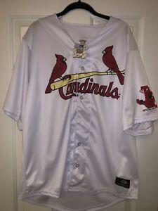 Johnson City Cardinals Authentic Replica Jersey Size 2XL XXL NWT MILB St. Louis