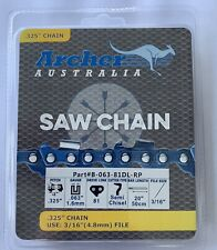 """2 PACK 20/"""" FORESTER STIHL MS 311 MS311 Milling Ripping 3//8 050 Chainsaw Chain"""