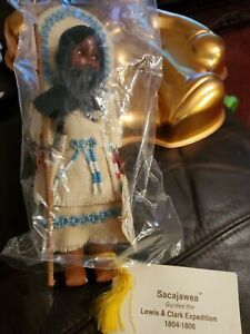 1986 Sacajawea Doll & Baby in Carrier by Carlson Dolls New With Tags
