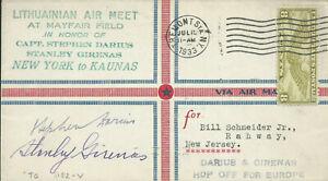 Lithuania 1933 - Aviators Darius and Girenas - Lituanica