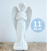Concrete mold, plaster, resin and more 3D Standing angel