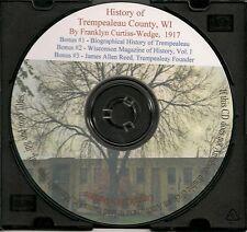 A History of Trempealeau County, Wisconsin + Bonus Book