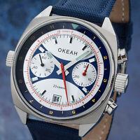 OKEAH Poljot Chronograph 3133 OKEAN MILITARY russische Uhr OCEAN 3133/1981599
