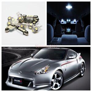 5x LED Bulbs Xenon White SMD Light Interior Kit For 2003-2008 Nissan 350Z 350 Z