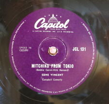 Gene Vincent / Pistol Packin` Mama & Mitchiko From Tokio