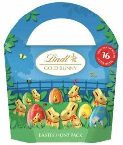 Lindt Gold Bunny Easter Hunt Box Easter Egg Pack 160g BBE 31/08/2021