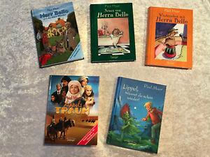Bücherpaket Paul Maar, Bello + Lippel, 5 Bücher, gelesen