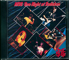 Michael Schenker Group-One Night at Budokan CD GIAPPONE cp32-5121 Black Triangle