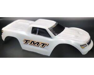 TMT Karosserie unbreakable weiß mit Sticker für Traxxas Maxx TMTMX4-W MAXX,