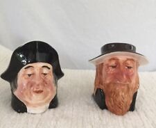 CHARLES DICKENS TOBY JUGS- FAGIN and MR. BUMBLE by NANCO Ceramic MUGS PITCHERS