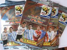 Adrenalyn Cards Panini 2010 World Cup South Africa 10 Factory Sealed Foil Packs