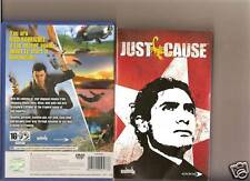 JUST CAUSE PLAYSTATION 2 PS2 PS 2 SUPERB ACTION GAME
