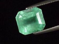 Smaragd 3,34 Ct. feines Grün - Oktagon Brasilien (535t)