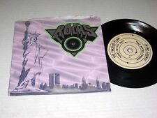 "33 RPM 7"" EP w/PIC SLEEVE Various Artists NEW YORK ROCKS Toilet Boys VG++/NM-"