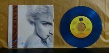 madonna true blue / Ain't no big deal 45 blue vinyl colored limited edition MINT