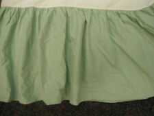 Queen Size gathered Bed Skirt from Ralph Lauren in Seafoam Aqua Color