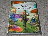 Disney ALICE IN WONDERLAND (WS DVD) Tim Burton-Johnny Depp-Anne Hathaway SEALED