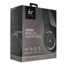 KitSound Arena Universal Wireless Bluetooth Over-Ear Headphones with Mic - NEW!