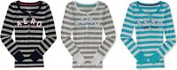 AERO Aeropostale Long Sleeve Stripe Henley Shirt TOP TEE T  M,L,XL,2XL NEW! NWT