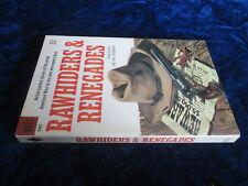 Vintage PB Dell D367 RAWHIDERS & RENEGADES 1960 1st PB edition FINE