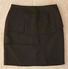 Viscose Dry-clean Only Solid Regular Size Skirts for Women