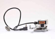 Blitzschiene für Polaroid Model 268 mit Rowi Blitzschuhund Kabel N.1269