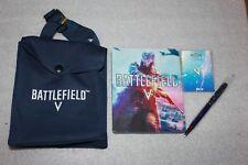 BATTLEFIELD V 5 STEELBOOK + BAG + PIN + PEN - NEW RARE !!! COLLECTORS