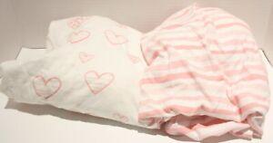 Biloban Pack n Play Playard Mini Crib Cotton Crib Sheets 2pk
