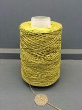 Lanas e hilos color principal verde de algodón