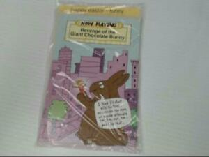 """American Greetings Happy Easter Funny Card """"Now Playing"""" Retail Pack of 6"""