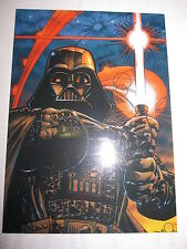 STAR WARS GALAXY MAGAZINE COVER GALLERY 1996 PROMO TOPPS C4 VADER VADOR RARE