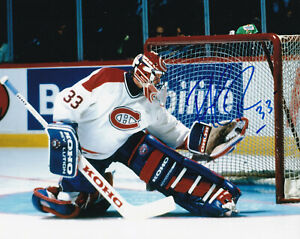 PATRICK ROY SIGNED AUTOGRAPH 8X10 PHOTO MONTREAL CANADIENS
