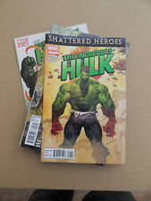 Incredible Hulk 1 - 15  + 7.1  . Lot Complet . Marvel 2011 / 12  . VF