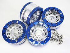 "ALIENTAC Four(4) 1.9"" Wide 1"" Alloy Beadlock Wheel Rim for 1/10 RC Model #007"