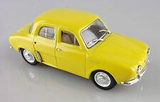 Norev 1/43e: Renault Dauphine berline jaune sans boite