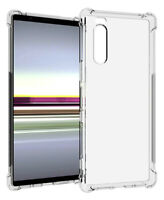 SDTEK Case for Sony Xperia 5 Cover Protection Gel Bumper Soft Clear