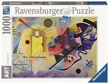 RAVENSBURGER 14848 WASSILY KANDINSKY AMARILLO ROJO Y AZUL - PUZZLE 1000 PIEZAS