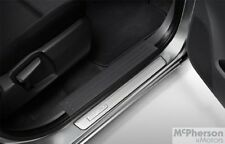 New Genuine Mazda BT-50 Aluminium Scuff Plate Set UP UR Model 2011-Current