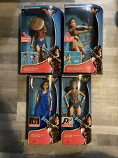 "Wonder Woman Battle Ready Movie Doll Series 12"" 2017 Nrfb Gal Gadot New Lot Of 4"