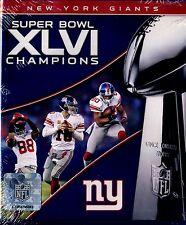 BRAND NEW BLU-RAY // SUPER BOWL XLVI // NEW YORK GIANTS //  vs PATRIOTS 2011